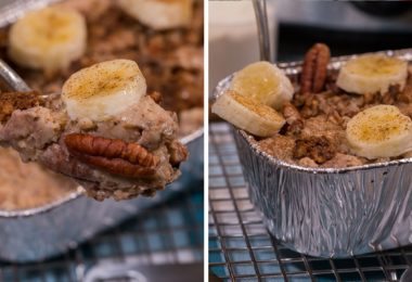 Slow Cooker Banana Bread Protein Oatmeal Recipe