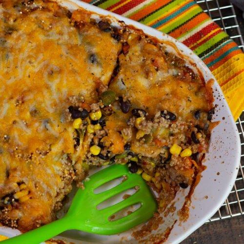 Southwestern Quinoa Casserole Recipe