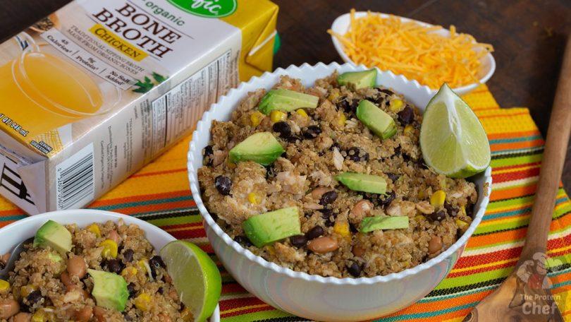 Spicy Quinoa Taco Bowls Recipe