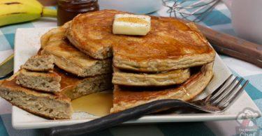 5 Ingredient Fluffy Protein Pancakes Recipe