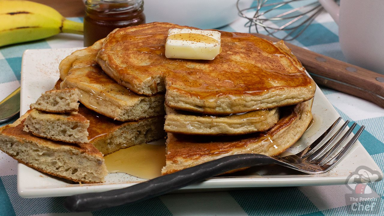 Easy 5 ingredient fluffy protein pancakes recipe forumfinder Images
