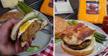 Easy Spicy Bacon Cheddar Burgers Recipe
