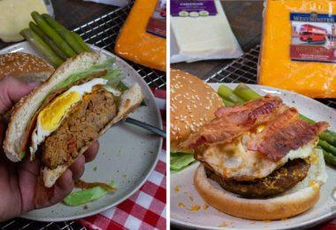 Easy Spicy Bacon Cheddar Burgers Recipe