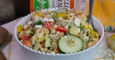 Greek Yogurt Macaroni Salad Recipe