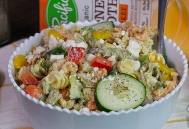 Greek Yogurt Macaroni Salad Recipe