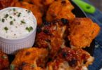 Easy Baked Buffalo Cauliflower Wings Recipe