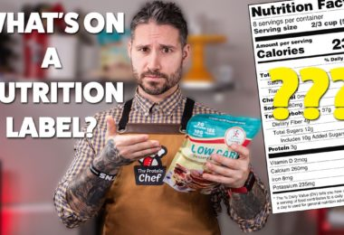 What's On a Nutrition Label