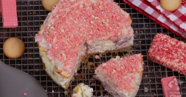 Strawberry Shortcake Protein Cheesecake Recipe