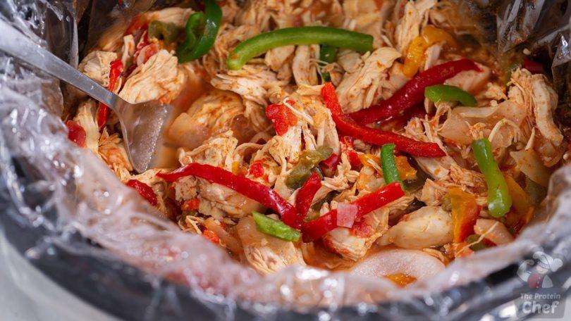 Slow Cooker Chicken Fajitas Recipe