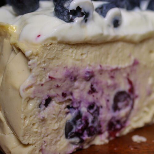 Blueberry Protein Cheesecake Recipe