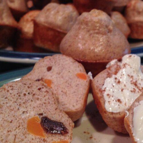 Mini Protein Carrot Cake Muffins Recipe