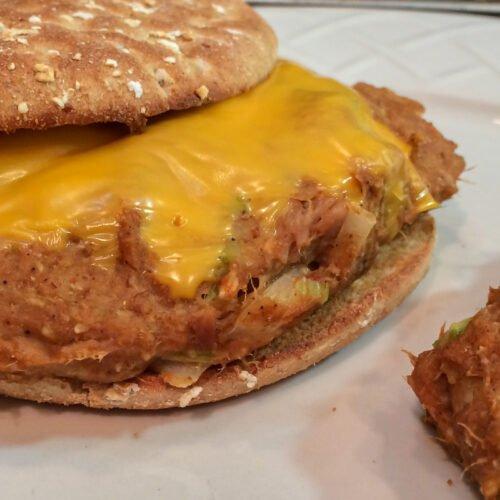 Taco Tuna Burgers Recipe